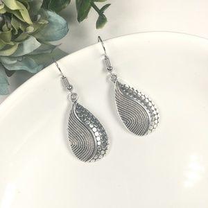 Jewelry - Silver Ethnic Boho Dangle Earrings